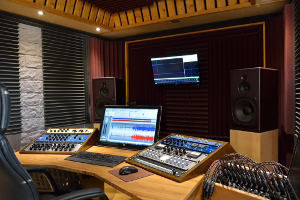 La workstation de mastering du studio FreeSon